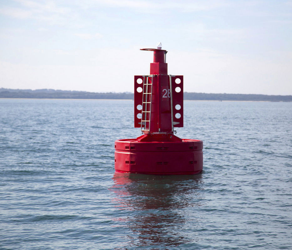 Beacon buoy - Atlantic-3000 - Sealite - high seas / with signal light / polyethylene