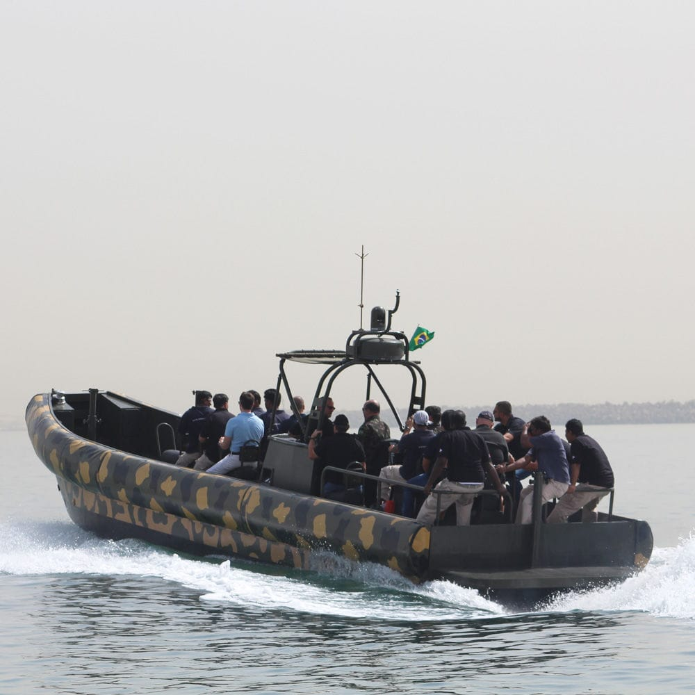 Hydro-jet inflatable boat - Riverine 12 M - ASIS BOATS - RHIB / hard-top / aluminum
