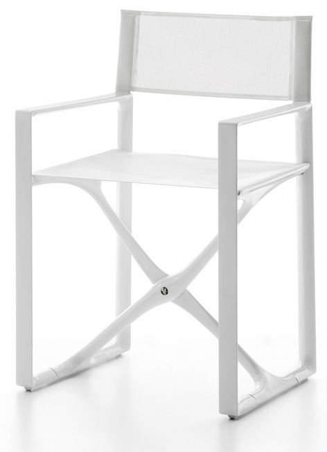 directors chair white red and black gaming boat director s folding polyamide calipso calip ww