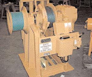 Ship winch - AHAW/MW - Appleton Marine Inc - hydraulic drive / single-drum