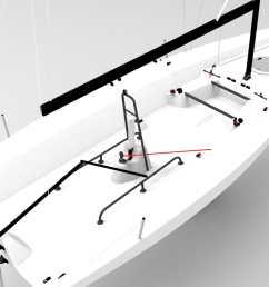monohull sport keelboat racing open transom [ 1920 x 1080 Pixel ]