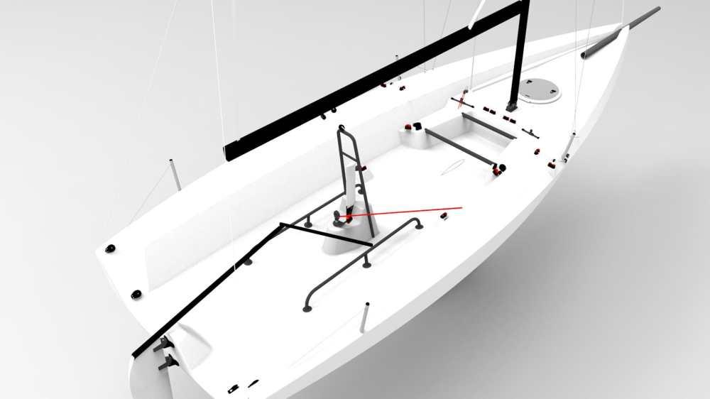 medium resolution of  monohull sport keelboat racing open transom