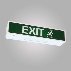 emergency exit sign all boating and