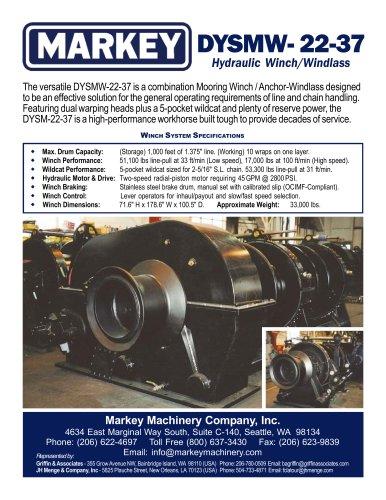Mooring winches - Markey Machinerympany - PDF Catalogs | Documentation | Boating Brochures