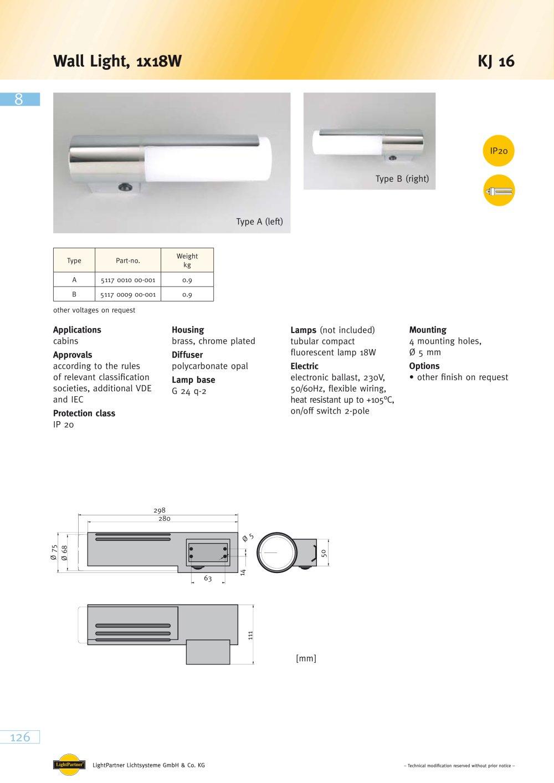 medium resolution of kj 16 wall light 1 1 pages