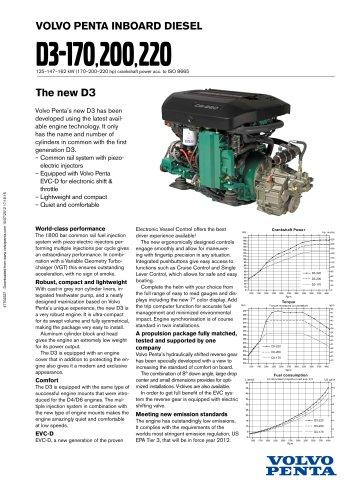 Alle Kataloge und technischen Broschüren von Volvo Penta