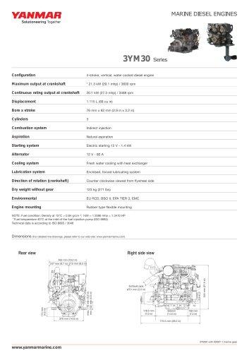Alle Kataloge und technischen Broschüren von Yanmar Marine USA