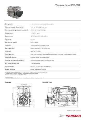 Tutti i cataloghi e le schede tecniche Yanmar Europe BV