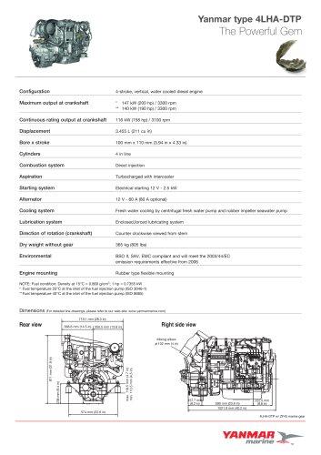 Tutti i cataloghi e le schede tecniche Yanmar Marine USA