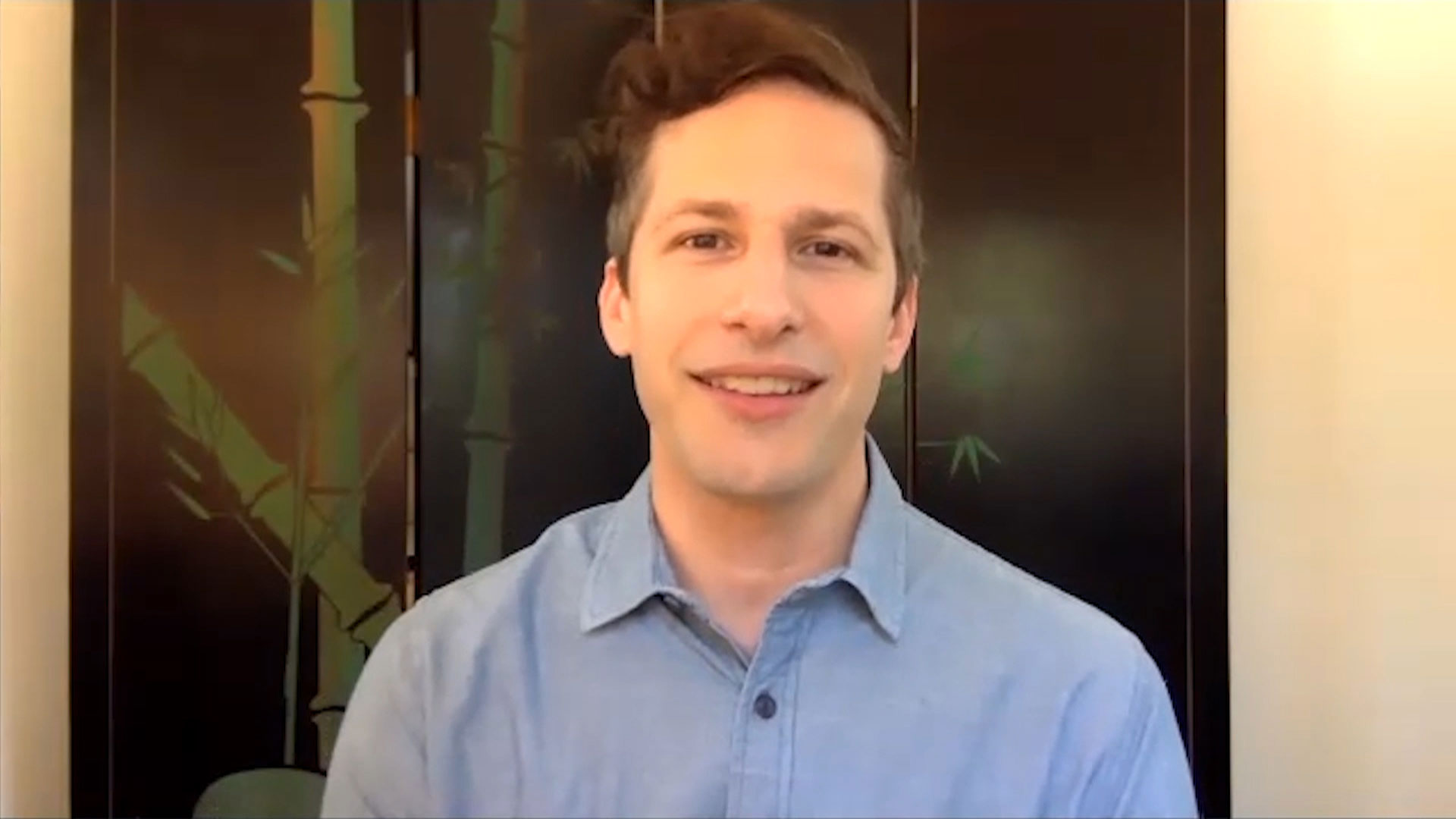 Watch Late Night With Seth Meyers Interview Andy Samberg