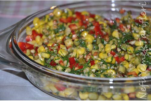 dereotlu salata tarifi, salata tarifleri