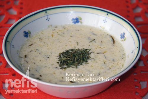 yoğurt çorbası (köy usulü)