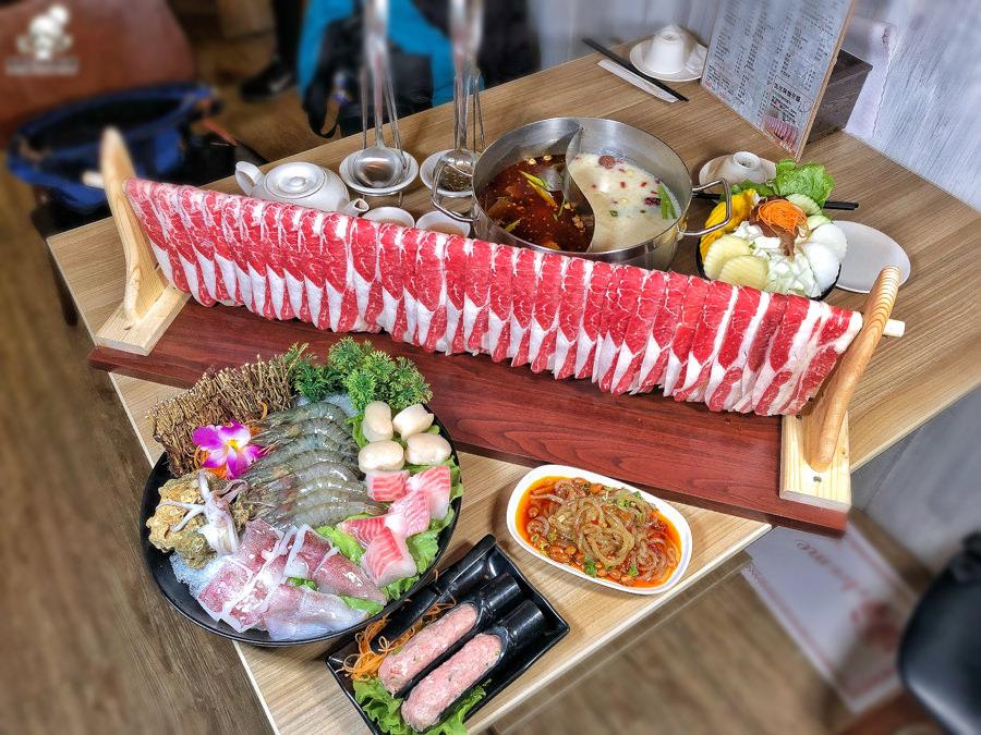 北高雄河堤社區好吃澎派的灑椒。麻辣 鴛鴦,必點肉瀑布 X 肉肉控最愛