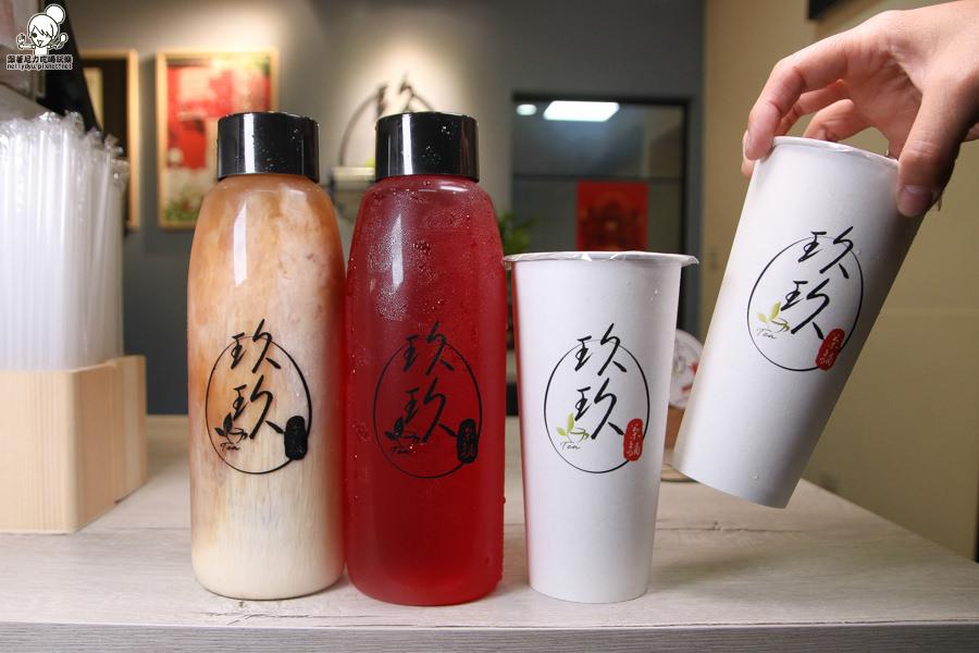 鹽埕區奶茶一條街之必嘗鮮玖玖茶舖,獨特飲品迸出新火花 X 招牌推薦白木耳咖啡、白木耳奶茶、洛神花咖啡
