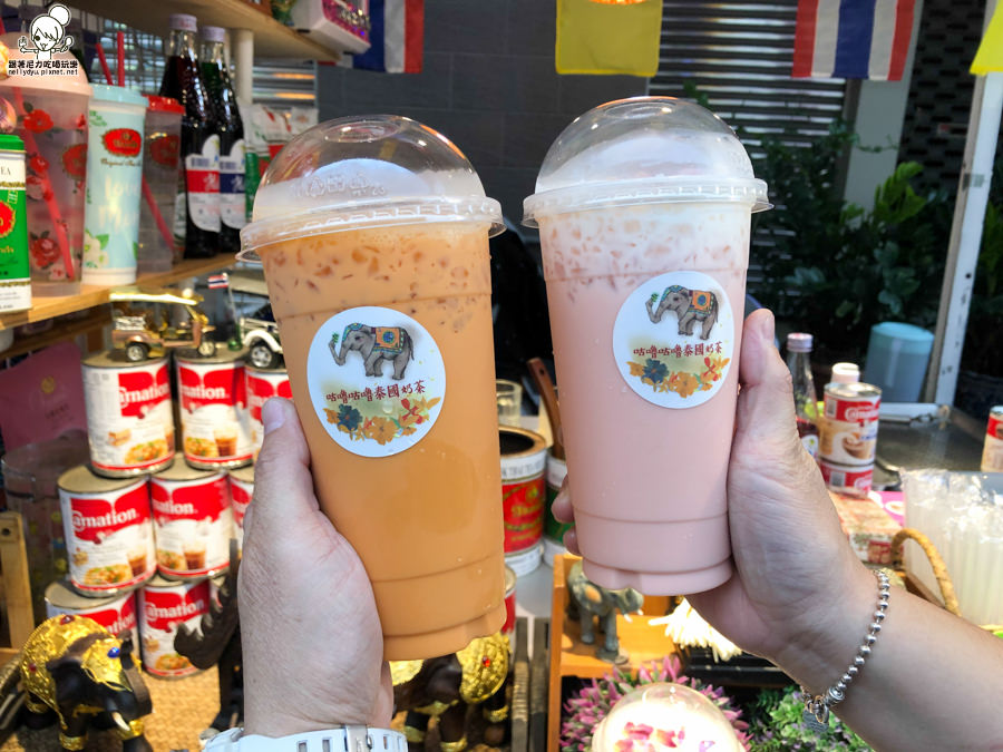 一秒到泰國之咕嚕咕嚕泰國奶茶 Gurn Gurn Thai Tea|新堀江必喝最泰式的茶飲
