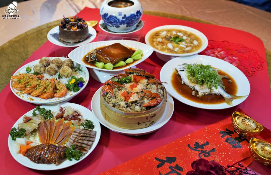 最台味高CP值之團圓年菜在家輕鬆吃,澎派菜色、回家團圓的美味家香味|福園台菜海鮮餐廳-漢來大飯店