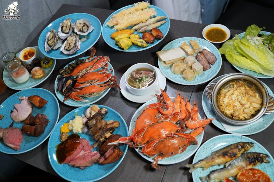 聚餐無冷場之漢來海港Buffet,|澎派鮮味、異國風味美食、獨家Bassetts貝賽斯、高樓層餐廳聚餐