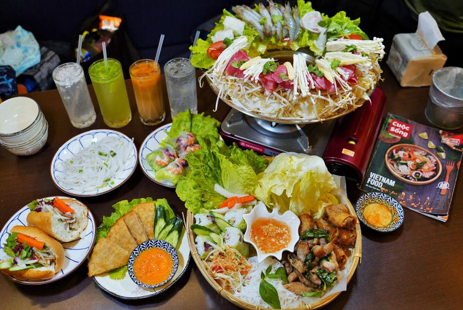 推薦必訪 越好吃越南料理 平價且開胃好吃|道地越南料理 X 大里一日輕旅遊