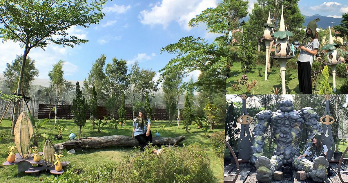 奇幻世界精靈幻想國度,帶你變精靈穿梭叢林 X 艾米達精靈谷茶樹莊園、屏東旅遊