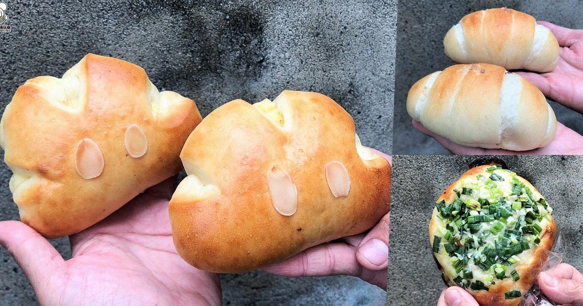新堀江商圈之低調麵包專賣店,貓抓草麵包屋好萌好好吃、每日限量出爐