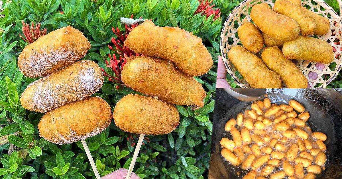 好給力之俗又大顆的阿力地瓜球,下午茶唰嘴美味必吃、鳳山散步美食