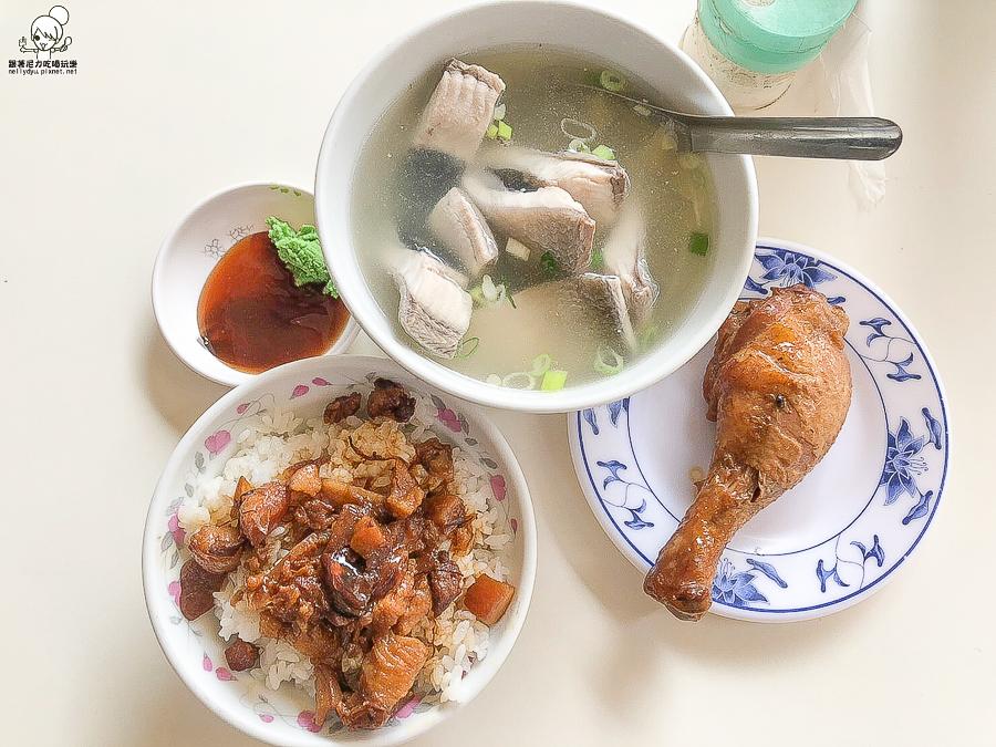 純樸實在新鮮好吃的阿明肉燥飯,自助餐菜色、新鮮海鮮料理