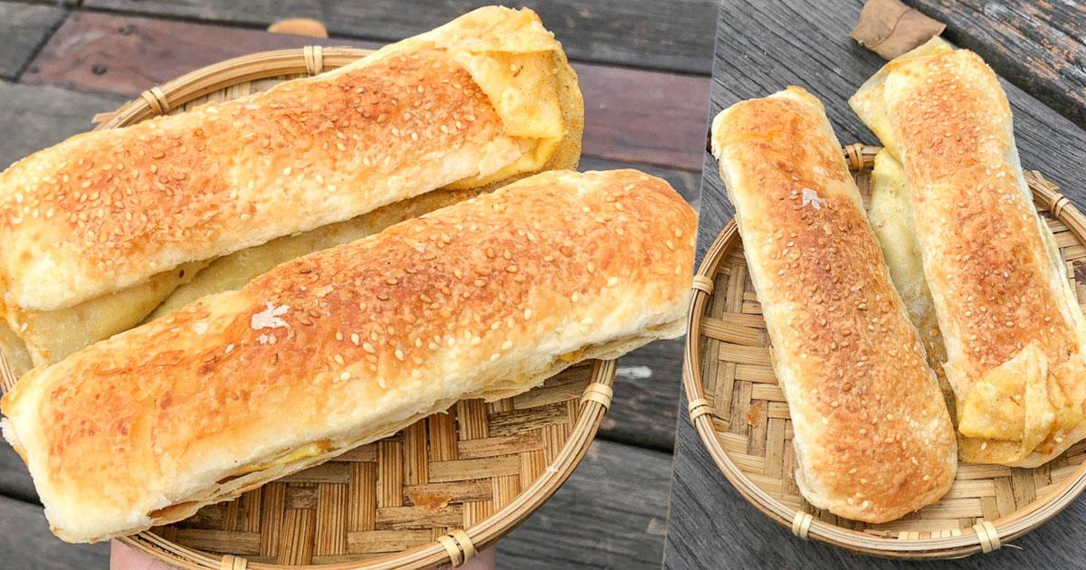 忠孝市場老字號排隊燒餅、中式早餐,手工傳統燒餅油條早餐店