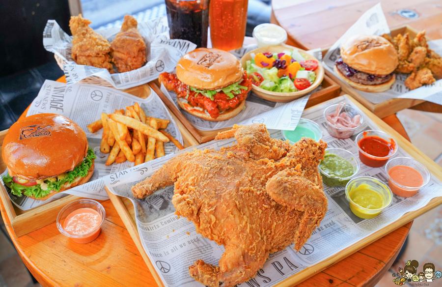 限定預約炸全雞、酥脆多汁美式炸雞,邪惡好吃美式漢堡,學區必朝聖美食 Crisken脆司肯美式炸雞