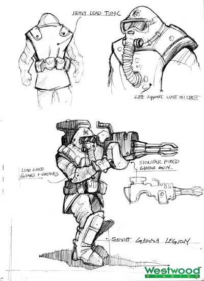 Command & Conquer: Red Alert 2 Concept Art