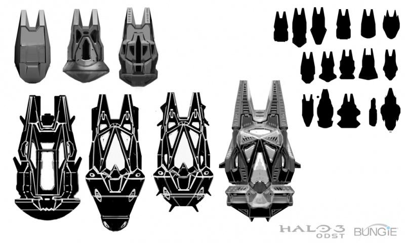 Halo 3: ODST Concept Art