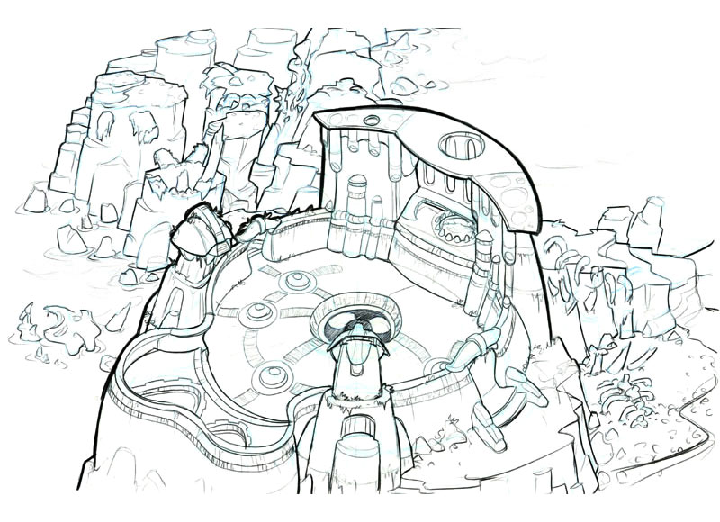 Jak and Daxter: The Precursor Legacy HD Concept Art