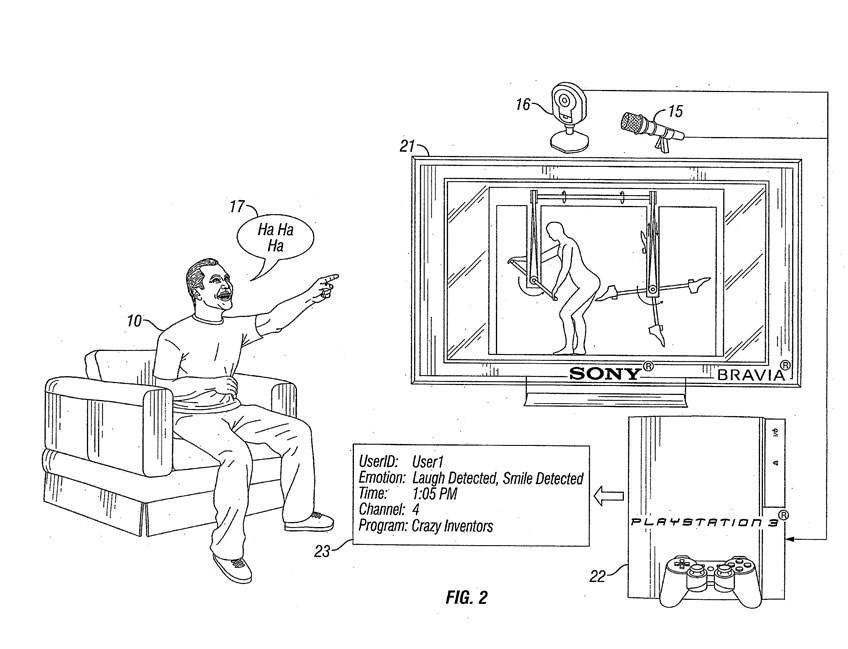 Sony wants to 'collect your emotional output' with PS3 app