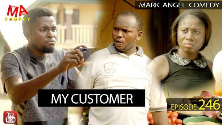 2qJHHK - MY CUSTOMER (Mark Angel Comedy Episode 246)