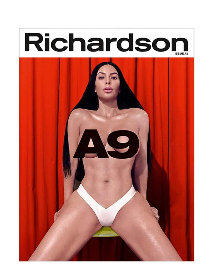 Kim Kardashia For Richardson Magazine