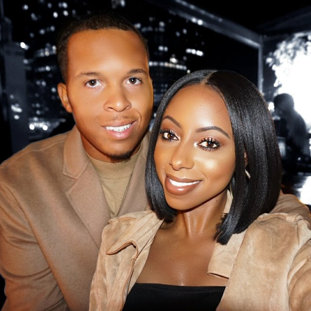 """Jessica Pettway love story - """"I Met Him At 17, Dated At 18, Married At 24, Had A Child At 26"""" - Lady Shares Beautiful Love Story (Photos)"""
