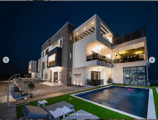 Odion Ighalos New Multi Million Naira Mansion In Lekk Lailasnews 1