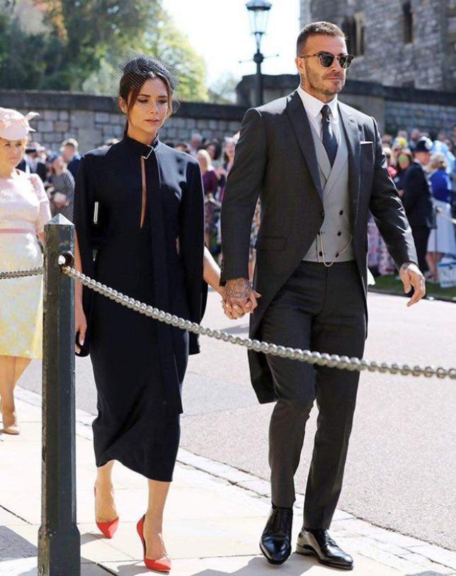 David and Victoria Beckham (Instagram/ @whowhatwear)