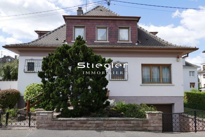 ILLKIRCH Maison bifamille 7 pices sur 570 ares  STIEGLER IMMOBILIER Agence immobilire