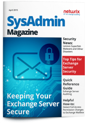 SysAdmin Magazine  Keeping Your Exchange Server Secure
