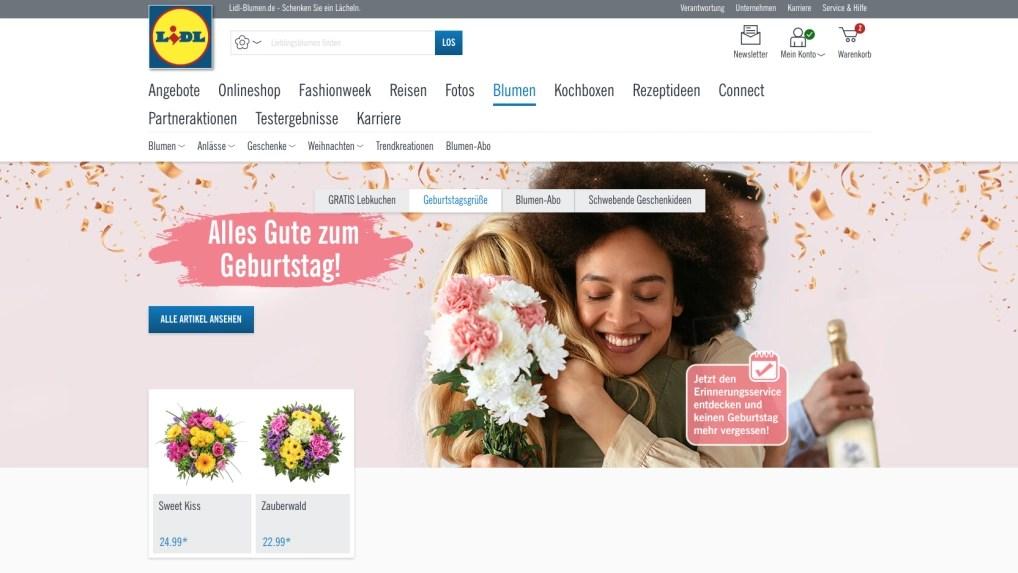 Lidl Blumen im Test Das kann der Blumenversand vom