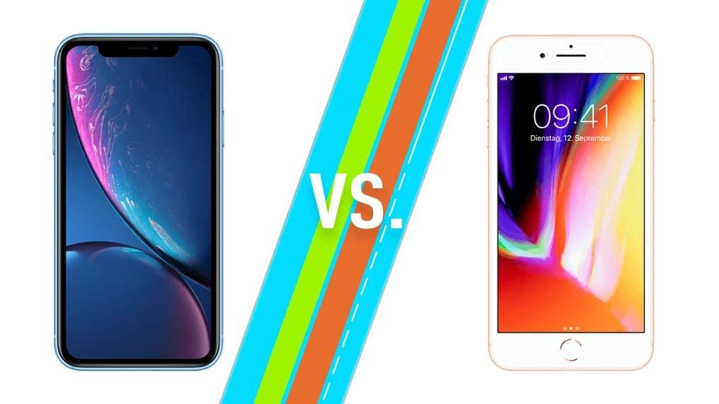iPhone XR vs. iPhone 8 (Plus): Das sind die wichtigsten Unterschiede - NETZWELT