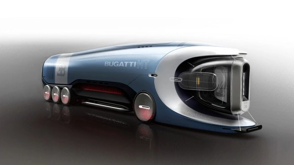 The Hyper Truck to the Bugatti as a competitor to the Truck's electrical But the Semi's so far only exists in the computer.