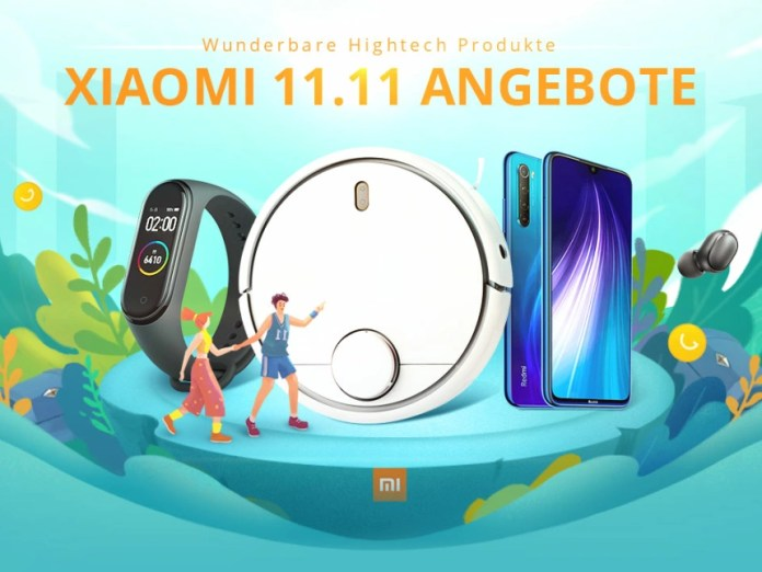 Xiaomi deals you get fed up with Gearbest until November 12 9 o'clock in the morning!