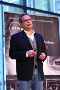 Paul Melcher speaking at the ASMP Symposium