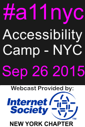 Accessibility Camp NYC