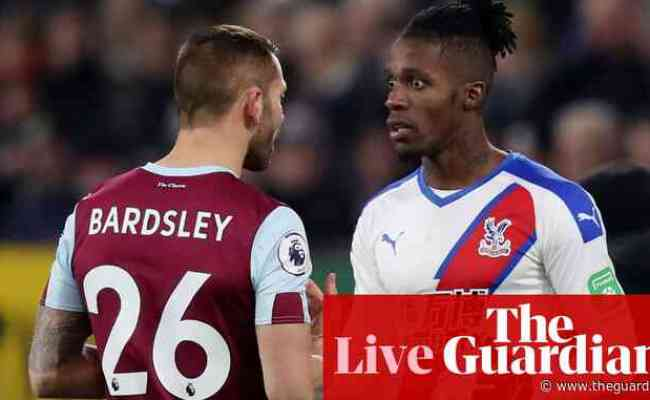 Crystal Palace V Burnley Premier League Live Sport