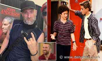 Saved By The Bell's Dustin Diamond, 44, CONFIRMS that he ...