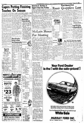 Murray Ford Dubois Pa : murray, dubois, Courier-Express, Dubois,, Pennsylvania, February
