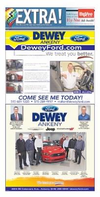 Dewey Ankeny : dewey, ankeny, Moines, Register, Moines,