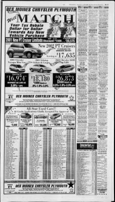 Chrysler Dealer Des Moines : chrysler, dealer, moines, Moines, Register, Moines,, August